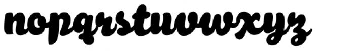 Melon Script Condensed Font LOWERCASE