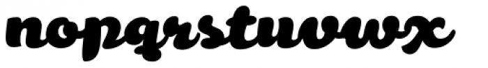 Melon Script Font LOWERCASE