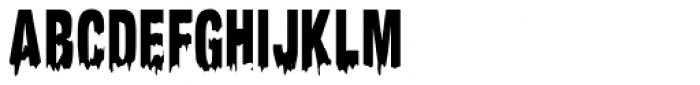 Meltifex Font UPPERCASE