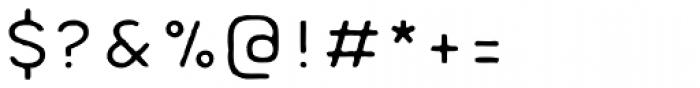 Meltow Sans 100 Handmade Font OTHER CHARS