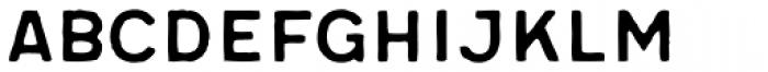 Meltow Sans 200 Handmade Font UPPERCASE