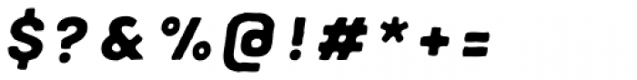 Meltow Sans 300 Handmade Italic Font OTHER CHARS
