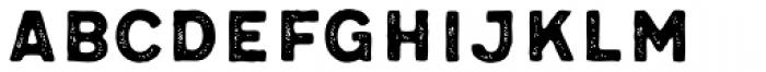 Meltow Sans 300 Rust Font UPPERCASE