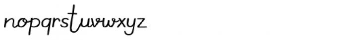 Meltow Script Font LOWERCASE