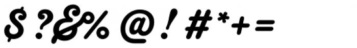 Melts Script Roman Font OTHER CHARS