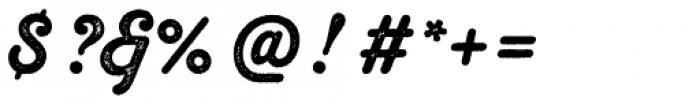 Melts Script Rough Sanscript Two Font OTHER CHARS