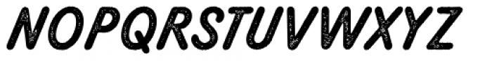 Melts Script Rough Sanscript Two Font UPPERCASE