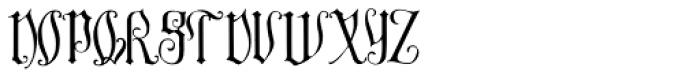 Melusine Font UPPERCASE