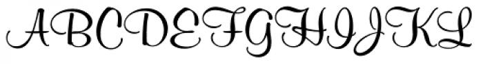 Melville Pro Font UPPERCASE