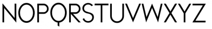 Melvin Sans Thin Font UPPERCASE
