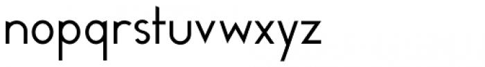 Melvin Sans Thin Font LOWERCASE
