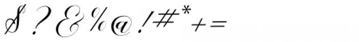 Melya Regular Font OTHER CHARS