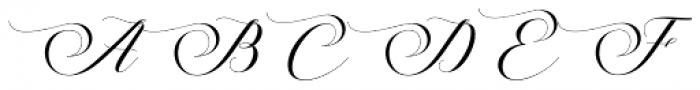 Melya Regular Font UPPERCASE