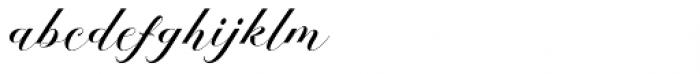 Melya Regular Font LOWERCASE