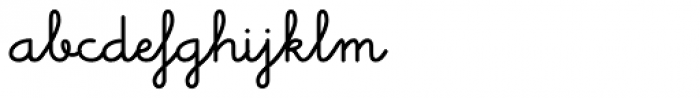 Memimas Bold Alternate Font LOWERCASE