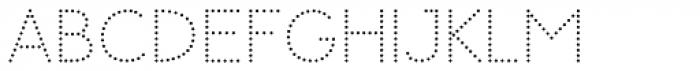 Memimas Dots Alternate Font UPPERCASE
