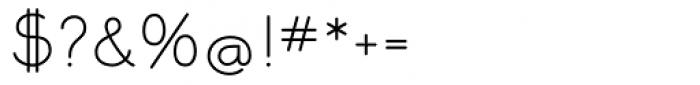 Memimas Medium Font OTHER CHARS