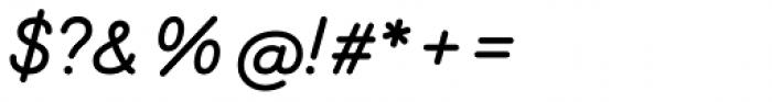 Memimas Pro Black Italic Font OTHER CHARS