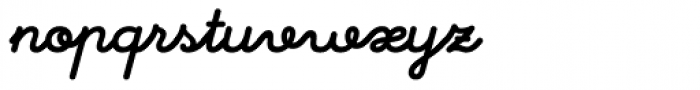 Memimas Pro Black Italic Font LOWERCASE