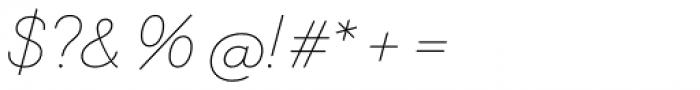 Memimas Pro Regular Italic Font OTHER CHARS