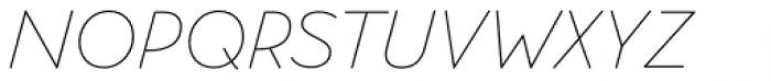 Memimas Pro Regular Italic Font UPPERCASE