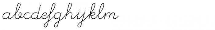 Memimas Pro Regular Italic Font LOWERCASE