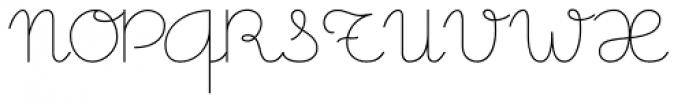 Memimas Regular Font UPPERCASE