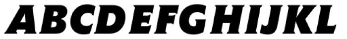 Memo Std Bold Italic Font UPPERCASE