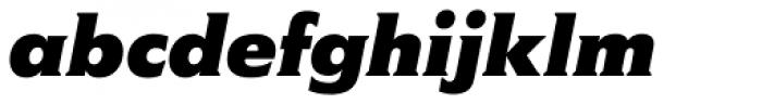Memo Std Bold Italic Font LOWERCASE