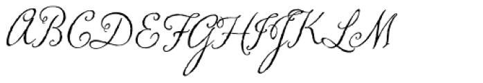 Memoir Font UPPERCASE