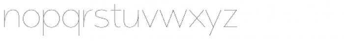 Memoire Font LOWERCASE