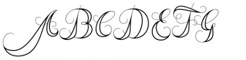 Memoriam Pro Inline Font UPPERCASE