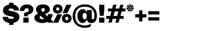 Mena Grotesk Black Font OTHER CHARS