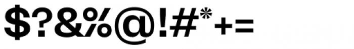 Mena Grotesk Semi Bold Font OTHER CHARS