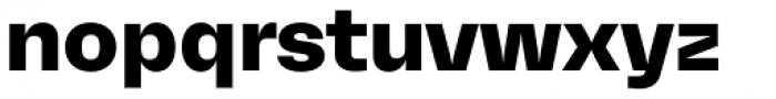 Mena Grotesk Ultra Bold Font LOWERCASE