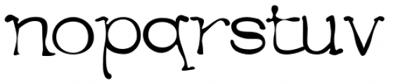 Menace Font UPPERCASE