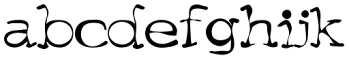 Menace Font LOWERCASE