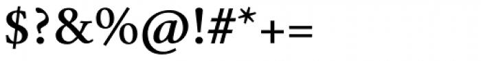 Mengelt Basel Antiqua Bold Font OTHER CHARS