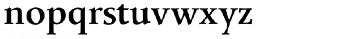 Mengelt Basel Antiqua Bold Font LOWERCASE