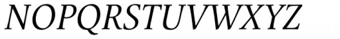 Mengelt Basel Antiqua Paneuropean Italic Font UPPERCASE