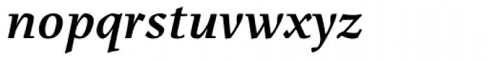 Menhart Bold Italic Font LOWERCASE
