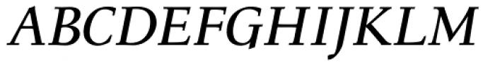 Menhart Display Bold Italic Font UPPERCASE