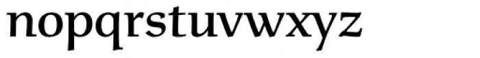 Menhart Display Bold Font LOWERCASE
