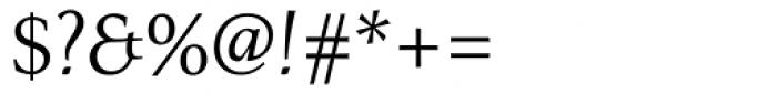 Menhart Regular Font OTHER CHARS