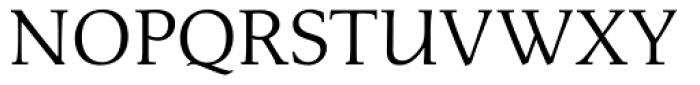 Menhart Regular Font UPPERCASE