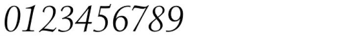 Menhart Std Display Italic Font OTHER CHARS