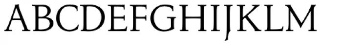 Menhart Std Regular Font UPPERCASE