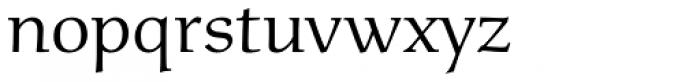Menhart Std Regular Font LOWERCASE