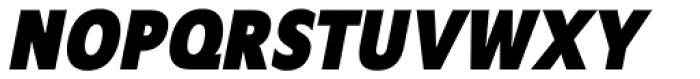 Mensa Cond Bold Italic Font UPPERCASE