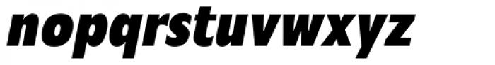 Mensa Cond Bold Italic Font LOWERCASE
